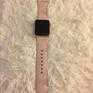 Apple Watch series 1 rose gold pink sand